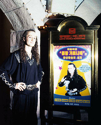 Lotte World - The illusionist Loran at the ''Magic Theatre''