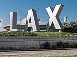 Los Angeles International Airport - LAX sign.jpg