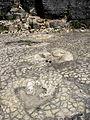 Loulle dinosaur tracks site - Big theropod tracks 04.JPG