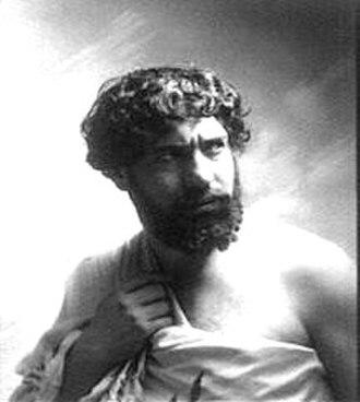 Déjanire - Lucien Muratore as Hercules in the premiere production
