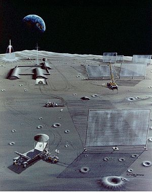 David Criswell - Solar power plant on the moon with microwave phased arrays