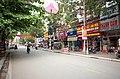 Một góc đại lộ Hồ Chí Minh, nhìn về hướng phố Trần Bình Trọng, đoạn gần đại lộ Trần Hưng Đạo, thành phố Hải Dương, tỉnh Hải Dương.jpg
