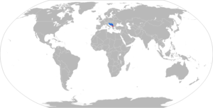 BVP M-80 - Map of M-80 operators in blue with former operators in red