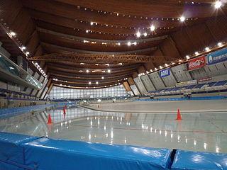 M-Wave indoor sports venue, Nagano, Japan