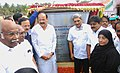 M. Venkaiah Naidu and the Union Minister for Defence, Shri Manohar Parrikar laid the Foundation Stone of the Dr. A.P.J. Abdul Kalam National Memorial, at Rameswaram.jpg