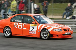 West Surrey Racing - Rob Collard in a Team RAC MG