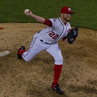 Drew Storen - Storen pitching