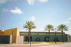 Contemporary art - The Museum of Contemporary Art in Miami, Florida.