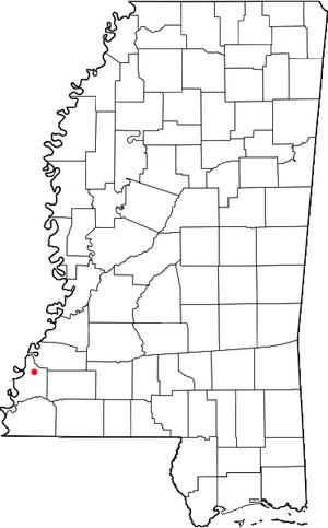 Washington, Mississippi - Location of Washington, Mississippi