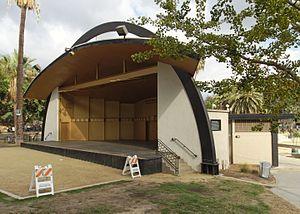 MacArthur Park - Levitt Pavilion bandshell