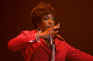 Macy Gray - Gray performing in Toronto, July 23, 2008