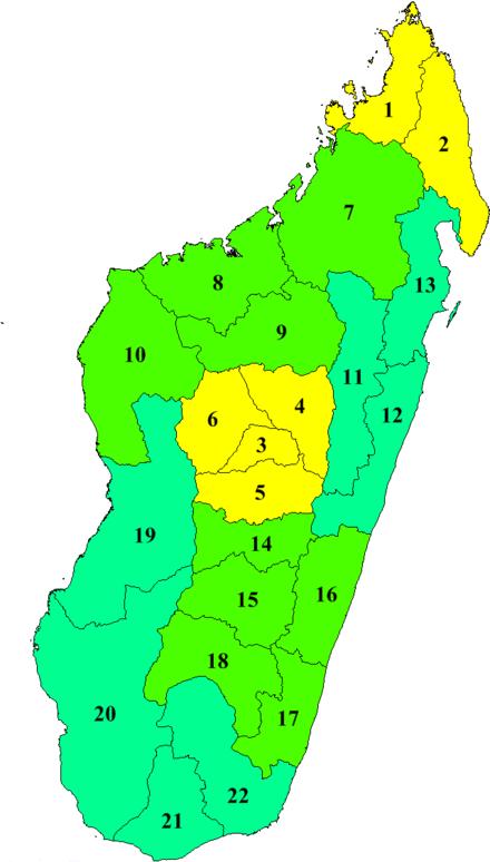 Carte De Madagascar Png.Liste Des Cours D Eau De Madagascar Wikipedia