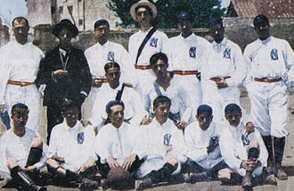 History of Real Madrid CF - The Real Madrid team of 1902, the year of its foundation.