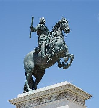 Monument to Philip IV of Spain - Equestrian statue of Philip IV