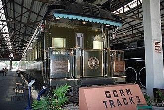Ferdinand Magellan (railcar) - The Ferdinand Magellan at the Gold Coast Railway Museum