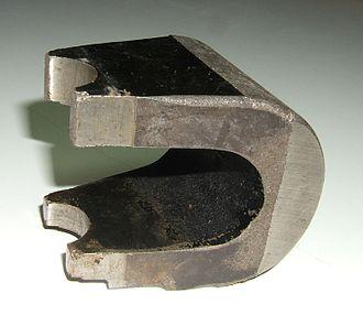Horseshoe magnet - Image: Magnetron magnet