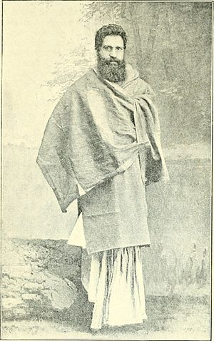 Swami Shraddhanand - Mahatma Munshi Ram or Swami Shraddhanand in early days