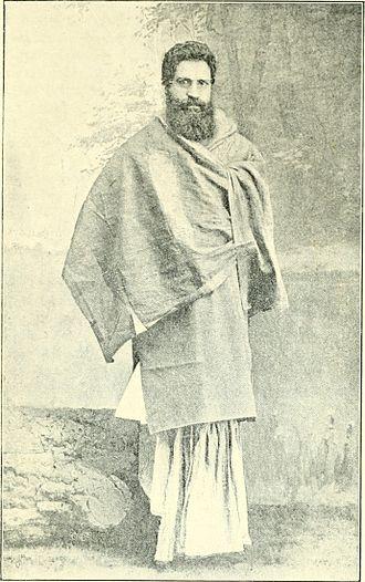 Swami Shraddhanand - Mahatma Munshi Ram or Swami Shraddhanand in early days