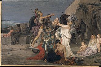 Albert Maignan - Image: Maignan, Le départ d'Hector