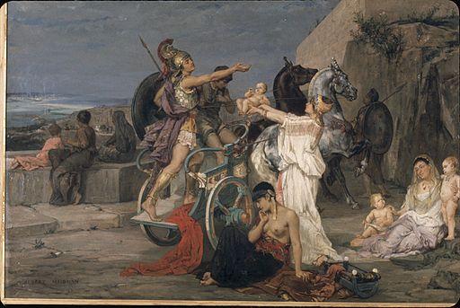 Maignan, Le départ d'Hector