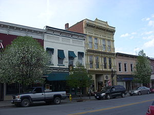Main–Partition Streets Historic District - Main-Partition Streets Historic District, April 2009
