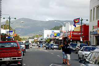 Kaitaia Place in North Island, New Zealand