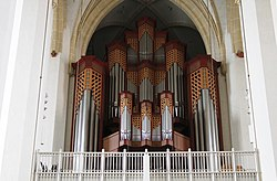 Main pipe organ - Frauenkirche - Munich - Germany 2017 (2).jpg