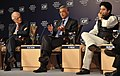 Maira, Kalyani and Scindia at the India Economic Summit 2009.jpg