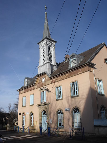 Mairie d'Issans, Doubs, France