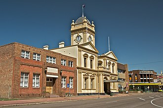 Maitland, New South Wales - Maitland Town Hall, High Street