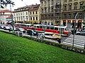 Malá Strana, Újezd, ulice s tramvají.jpg