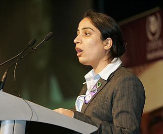 Malalai Joya - Joya speaking in Australia, March 2007