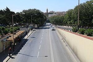 Transport in Malta - Triq l-Indipendenza in Ħamrun