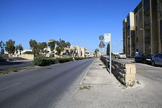 Dom Mintoff - Dom Mintoff Road in Paola