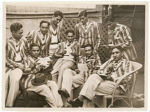 Bantva Manavadar - Manavadar State Men's Hockey Team, Sydney, June 1938 - photographer Sam Hood.