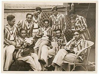 Bantva Manavadar - Manavadar State Men's Hockey Team, Sydney, June 1938 - photographer Sam Hood.