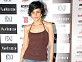 Mandira Bedi at Van Heusen Men's Fashion Week model auditions 07.jpg