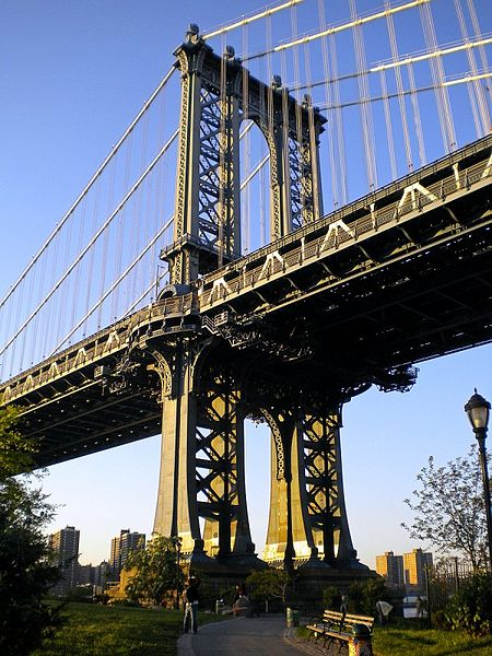 File:Manhattan Bridge 2009.jpg by Steve_V via Wikimedia Commons