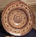 Manifattura aragonese, forse muel, piatto a lustro, 1550-1600 ca..JPG