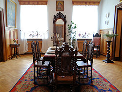 Manor of Kraszewski family in Romanów – Family room - 01.jpg