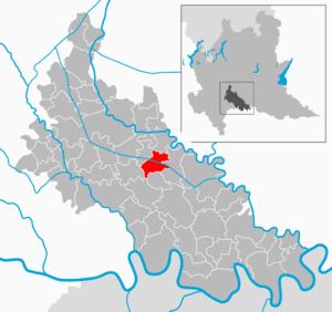 Mairago - Image: Map IT Lodi Mairago
