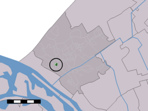 Heenweg - Image: Map NL Westland Heenweg