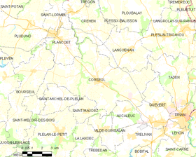 Map commune FR insee code 22048.png
