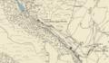Map of Cwm Ebol quarry, 1887.png
