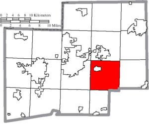 Osnaburg Township, Stark County, Ohio - Image: Map of Stark County Ohio Highlighting Osnaburg Township