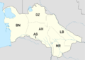 Map of Turkmenian license plate codes.png