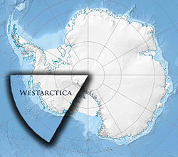 Location of Westarctica