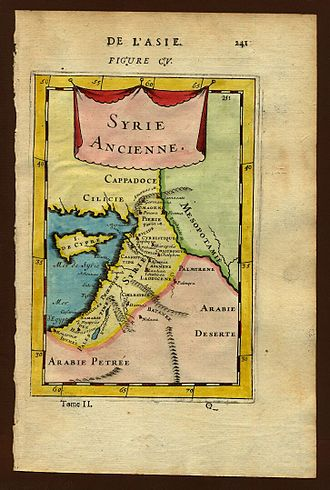 Coele-Syria - Map of ancient Syria