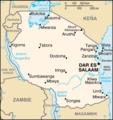 Mapa Tanzanie.png