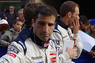 Marc Gené Spanish racing driver